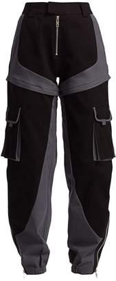 I.AM.GIA Frances Two-Tone Cargo Pants