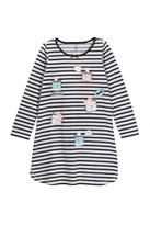 Petit Lem Meow Kitty Knit Nightgown (Toddler & Little Girls)