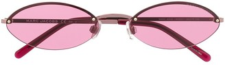 Marc Jacobs Oval Tinted Sunglasses