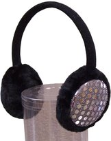 N'Ice Caps TM N'Ice Caps Girls Sequin Trimmed Adjustable Cold Weather Earmuffs