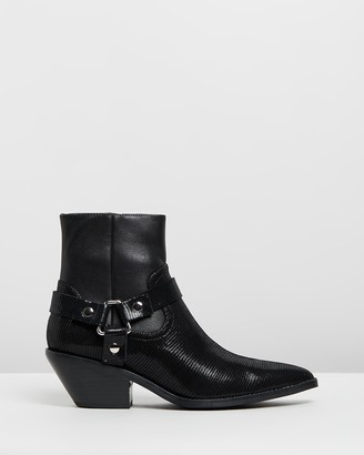 CAVERLEY Don Leather Ankle Boots