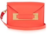 Sophie Hulme Milner Mini envelope leather cross-body bag
