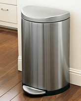 Williams-Sonoma Williams Sonoma simplehumanTM; Stainless-Steel Semi-Round Step Trash Can