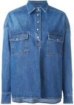 Each X Other loose fit denim shirt
