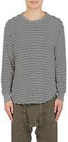NSF Men's Striped Long-Sleeve T-Shirt-BLACK