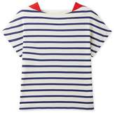 Petit Bateau Girl's striped lightweight jersey t-shirt