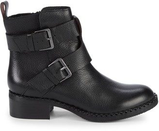 Gentle Souls Benton Leather Moto Booties