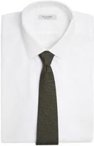 Bottega Veneta Micro intrecciato-print silk tie