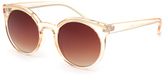 Full Tilt Gold Brow Sunglasses