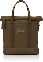 Balenciaga Men's Roll-Top Shopper Tote Bag