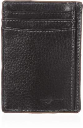 Buxton Men's Floater RFID Blocking Front Pocket Money Clip Slim Wallet
