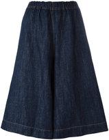 Sofie D'hoore dark denim shorts - women - Cotton/Linen/Flax - 36