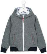 Little Marc Jacobs zipped hoodie - kids - Cotton/Polyester - 10 yrs