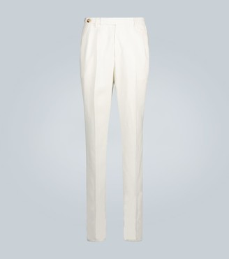 Brunello Cucinelli Exclusive to Mytheresa tapered linen pants