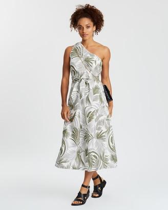 Sportscraft Settia Linen Dress