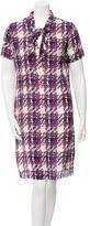 Marni Silk Short Sleeve Dress