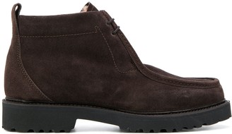 Holland & Holland chunky heel ankle boots