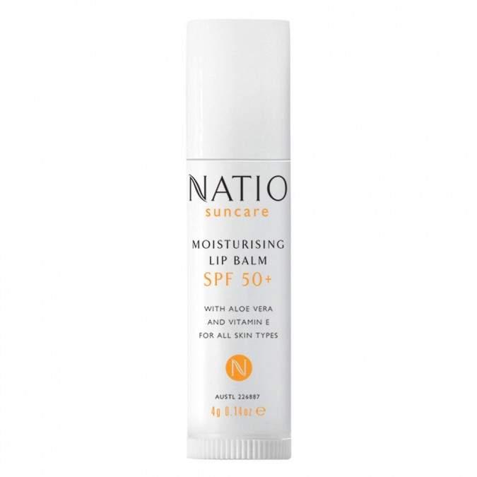 Moisturising Lip Balm Spf 50+ 4 G by Natio