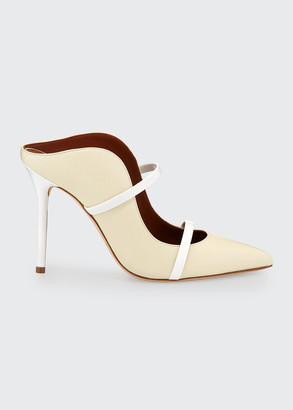 Malone Souliers Maureen Leather Slide Mules