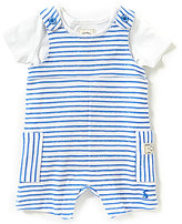 Joules Baby Boys Newborn-12 Months Striped Coverall & T-Shirt Set
