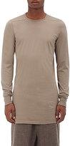 Rick Owens Men's Level Cotton Long-Sleeve T-Shirt-GREY