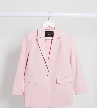 Y.A.S blazer co ord in pink