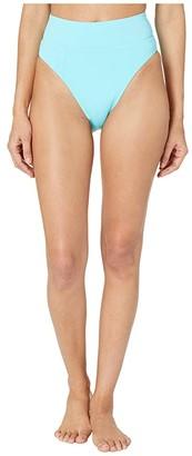 Becca by Rebecca Virtue Color Code Tanya French Cut High Leg Bottoms (Sea) Women's Swimwear