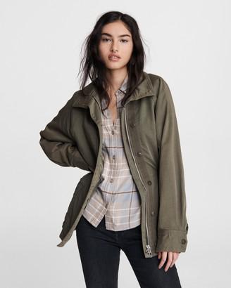 Rag & Bone Mazie cotton jacket