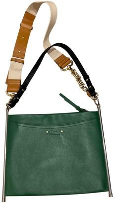 Chloé Roy Green Leather Handbags