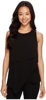 Vince Camuto Sleeveless Asymmetrical Layered Blouse Women's Blouse
