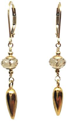 Melinda Lawton Jewelry Champagne Gold Earrings