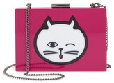 Nordstrom Cat Expressions Box Clutch - Pink
