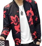 CFD Mens Fashion Printed Baseball Bomber Jacket M