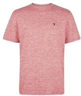 Burton Burton Farah Red Short Sleeve Crew Neck T-shirt*