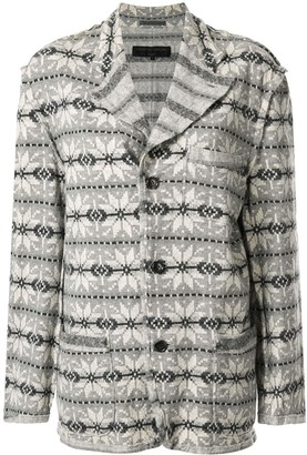 Comme Des Garçons Pre Owned Long Sleeve Jacket