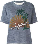See by Chloe sunset print T-shirt - women - Cotton - S
