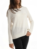 White + Warren Cashmere Thermal Crewneck