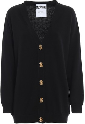 Moschino Dollar Buttons Cardigan