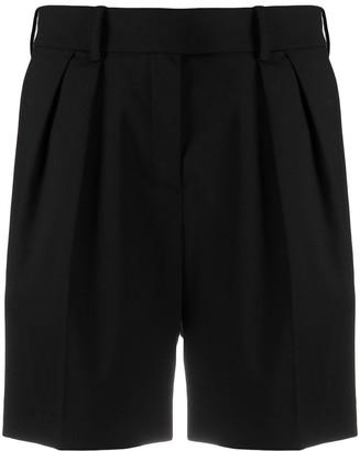 Alexandre Vauthier Pleat Detail Tailored Shorts