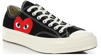 Comme des Garcons Peek-A-Boo Low-Top Canvas Sneakers