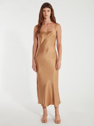 Bec & Bridge Clara Silk Slip Dress