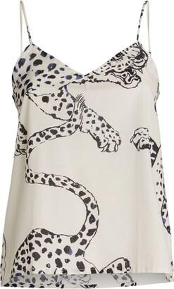 Desmond & Dempsey Jaguar Print Camisole