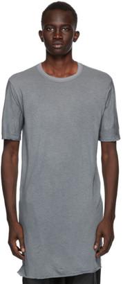 Boris Bidjan Saberi Grey Object-Dyed T-Shirt