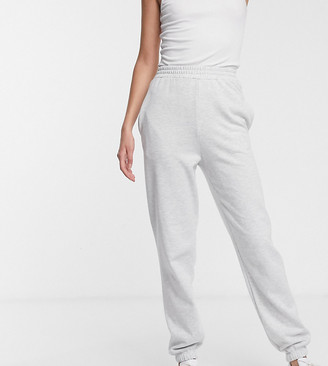 New Look Tall cuffed jogger in light gray