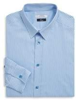 Versace Fine Stripe Cotton Dress Shirt