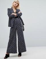 Fashion Union Printed Pant -Co-Ord