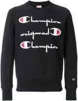 Champion logo embroidered sweatshirt