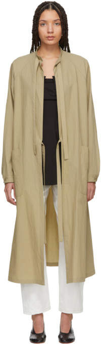 Y's Ys Beige Surgical Gown Coat