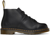 Thumbnail for your product : Dr. Martens Black Leather Church Monkey Boots