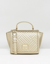 Love Moschino Gold Quilted Bag